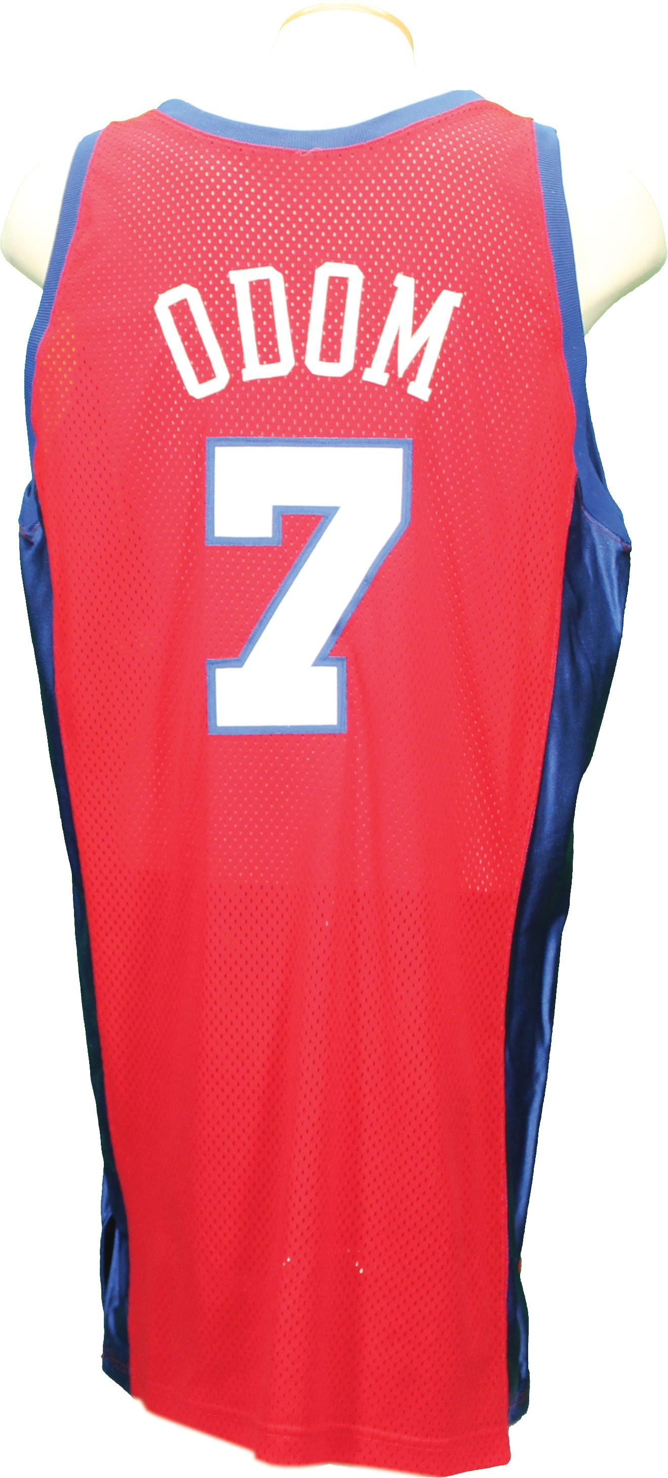 Lot Detail - 2000-01 Lamar Odom Los Angeles Clippers Game Used Jersey 5d309f891