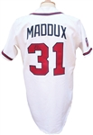1997 Greg Maddux Autographed Game Used Atlanta Braves Jersey