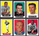 1964 Topps Football Complete Set (176)
