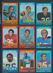 1971 Topps Football High Grade Complete Set of (263)