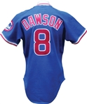 1987 Andre Dawson Game Used Chicago Cubs Jersey