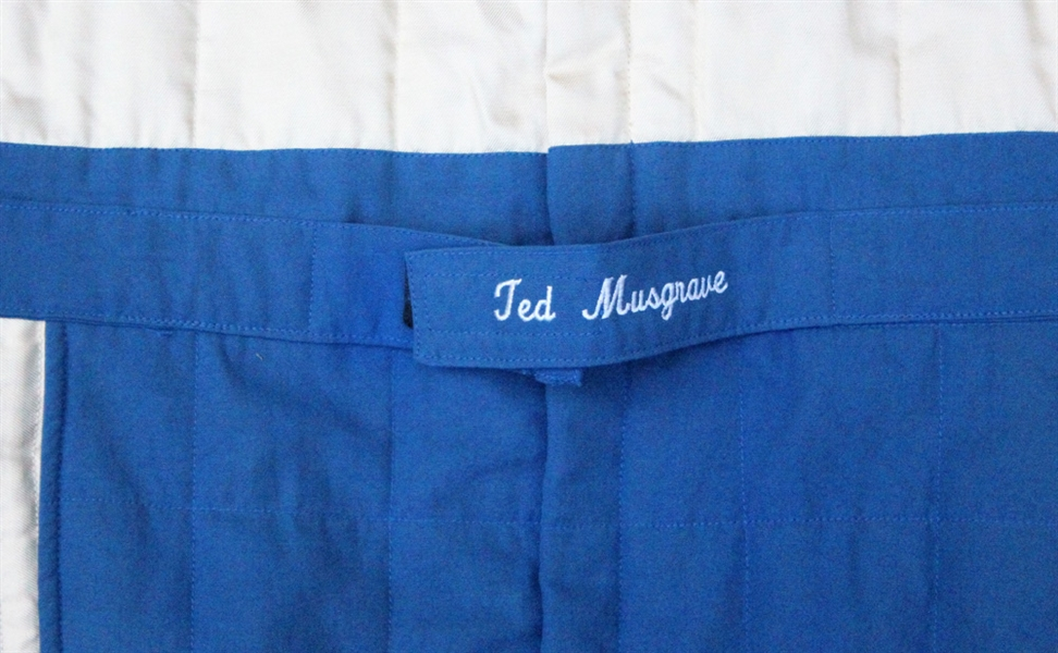Ted Musgrave Autographed NASCAR Race Worn Suit