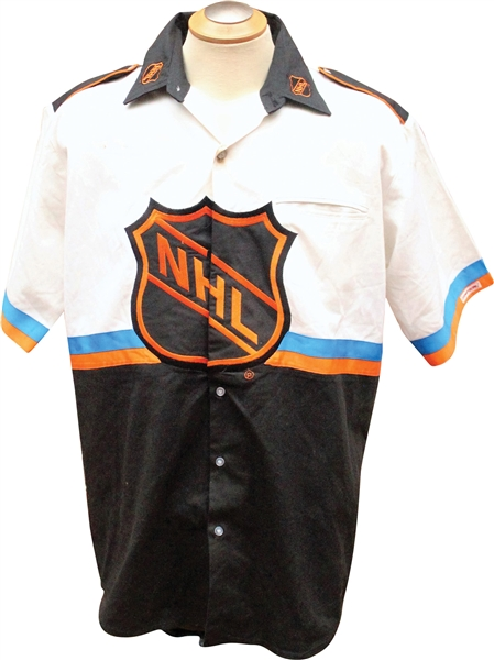 Rare National Hockey League NASCAR NHL Garage/Crew Suit