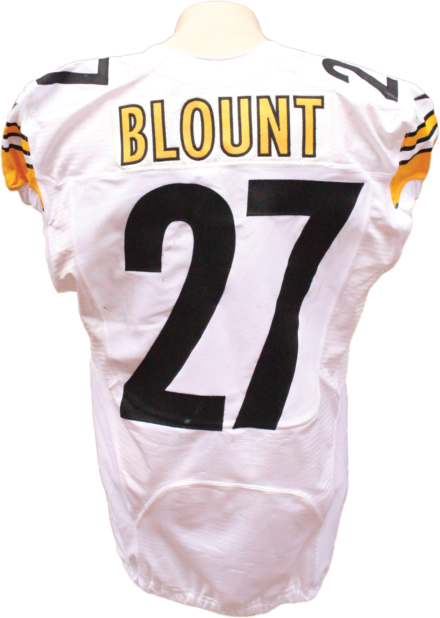 500ef7ee0 ... 2014 LeGarrette Blount Game Used Pittsburgh Steelers Jersey .