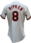 1989 Cal Ripken, Jr. Autographed Game Used Baltimore Orioles Jersey