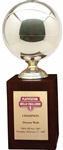 "2007 Dwyane Wade NBA All-Star ""PlayStation Skills Challenge"" Game Championship Trophy – Wade Family LOA"