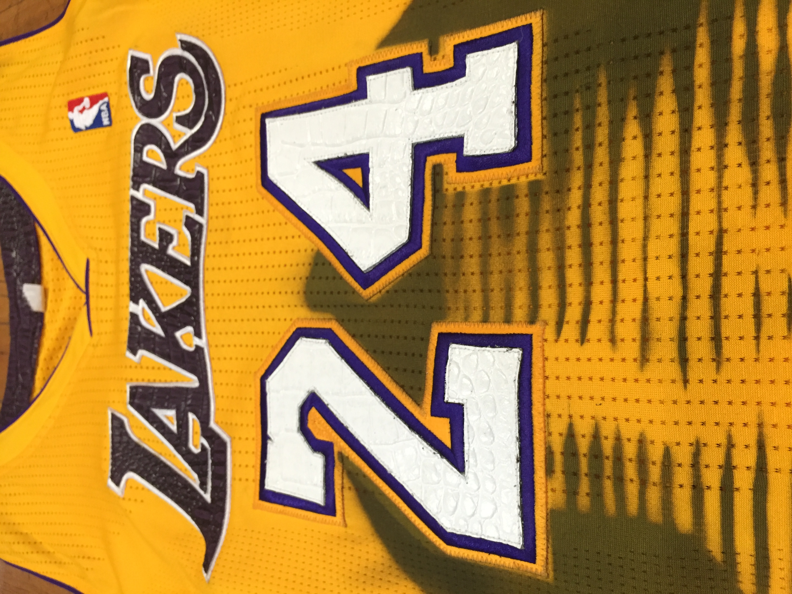 Los Angeles Lakers Spray Paint Stencil