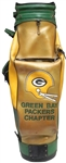 CIRCA 1985 DAVE ROBINSONS GREEN BAY PACKERS CHAPTER GOLF BAG