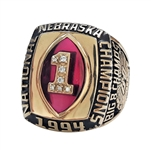 1994 LAWRENCE PHILLIPS NEBRASKA NATIONAL CHAMPIONSHIP RING