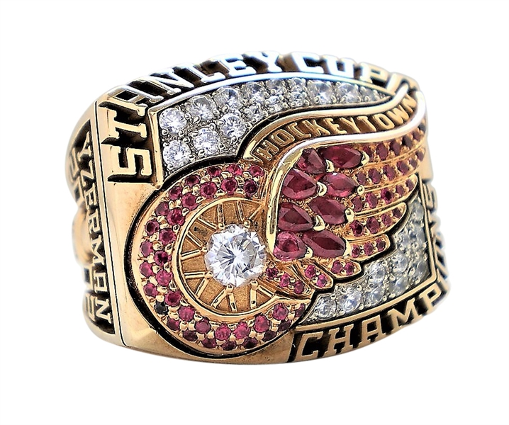 2002 STEVE YZERMAN DETROIT RED WINGS STANLEY CUP CHAMPIONS RING