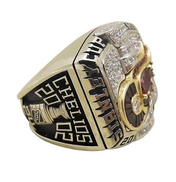 2002 CHRIS CHELIOS DETROIT RED WINGS STANLEY CUP CHAMPIONSHIP RING