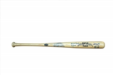 1999 COOPERSTOWN BAT COMPANY LIMITED EDITION (8 OF 99) AUTOGRAPHED CLASS OF 1999 HALL OF FAME BAT