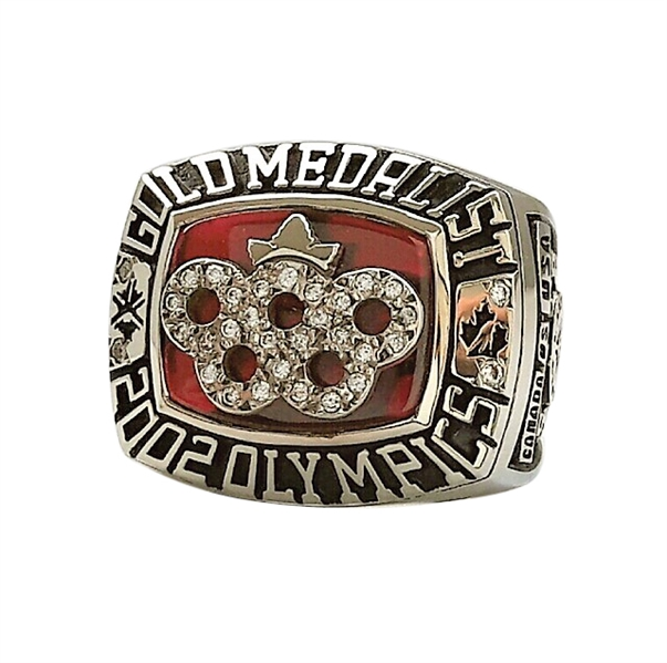2002 WAYNE GRETZKY SALT LAKE CITY WINTER OLYMPICS GOLD MEDAL CHAMPIONSHIP RING