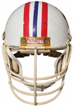 CIRCA 1984 JOHNNY REMBERT NEW ENGLAND PATRIOTS GAME USED HELMET