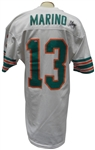 CIRCA 1984-85 DAN MARINO GAME USED AND AUTOGRAPHED MIAMI DOLPHINS JERSEY