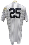 2015 MARK TEIXEIRA NY YANKEES GAME USED JERSEY MLB STEINER LOA
