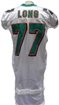 2010 JAKE LONG MIAMI DOLPHINS GAME USED JERSEY
