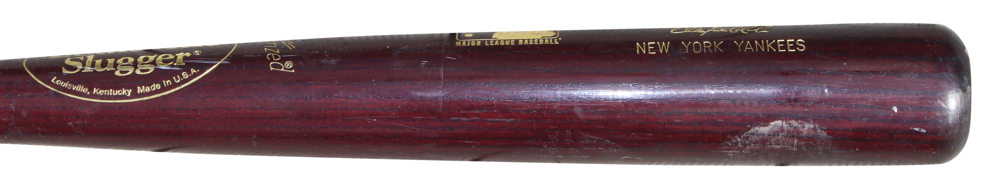 2001 CHUCK KNOBLAUCH GAME USED NEW YORK YANKEES BAT
