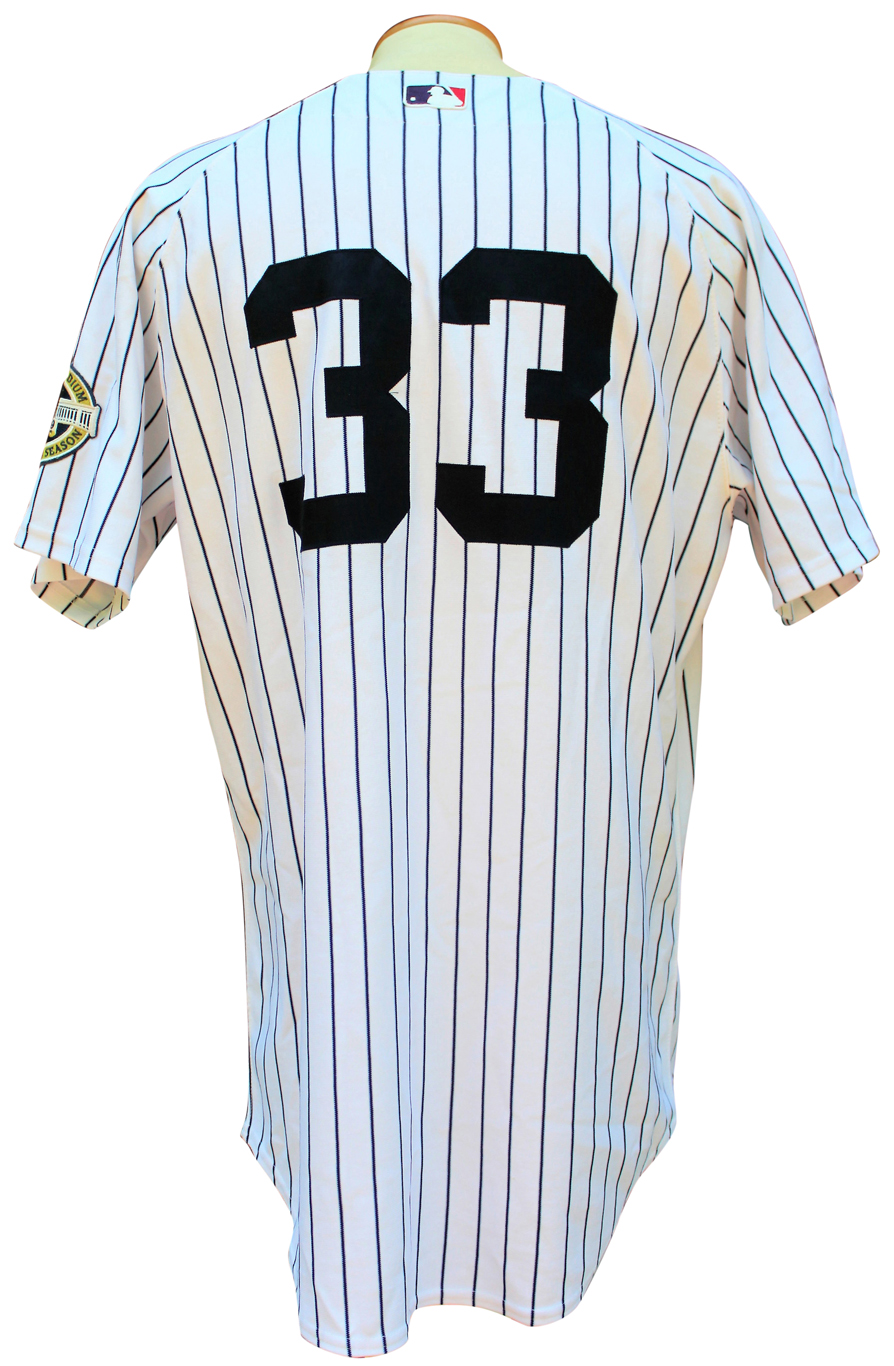 0423504d8 Lot Detail - 2009 NICK SWISHER NEW YORK YANKEES GAME USED JERSEY MLB