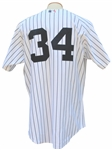 2004 MEL STOTTLEMYRE GAME USED NEW YORK YANKEES JERSEY