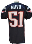 2008 JEROD MAYO NEW ENGLAND PATRIOTS GAME USED JERSEY