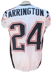 2011 KYLE ARRINGTON AUTOGRAPHED NEW ENGLAND PATRIOTS GAME USED JERSEY
