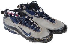 2010 NICK SWISHER AUTOGRAPHED GAME USED CLEATS