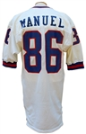 1987 LIONEL MANUEL NEW YORK GIANTS GAME USED JERSEY