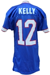 1993 JIM KELLY GAME USED BUFFALO BILLS JERSEY