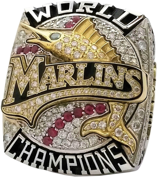 2003 FLORIDA MARLINS WORLD SERIES PLAYER'S RING