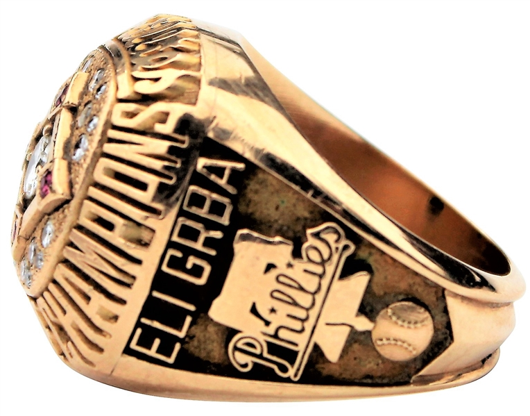 1993 PHILADELPHIA PHILLIES NATIONAL LEAGUE CHAMPIONSHIP RING WORLD SERIES GRBA
