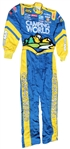 CLINT BOWYER SIGNED CAMPING WORLD NASCAR RACE WORN SUIT