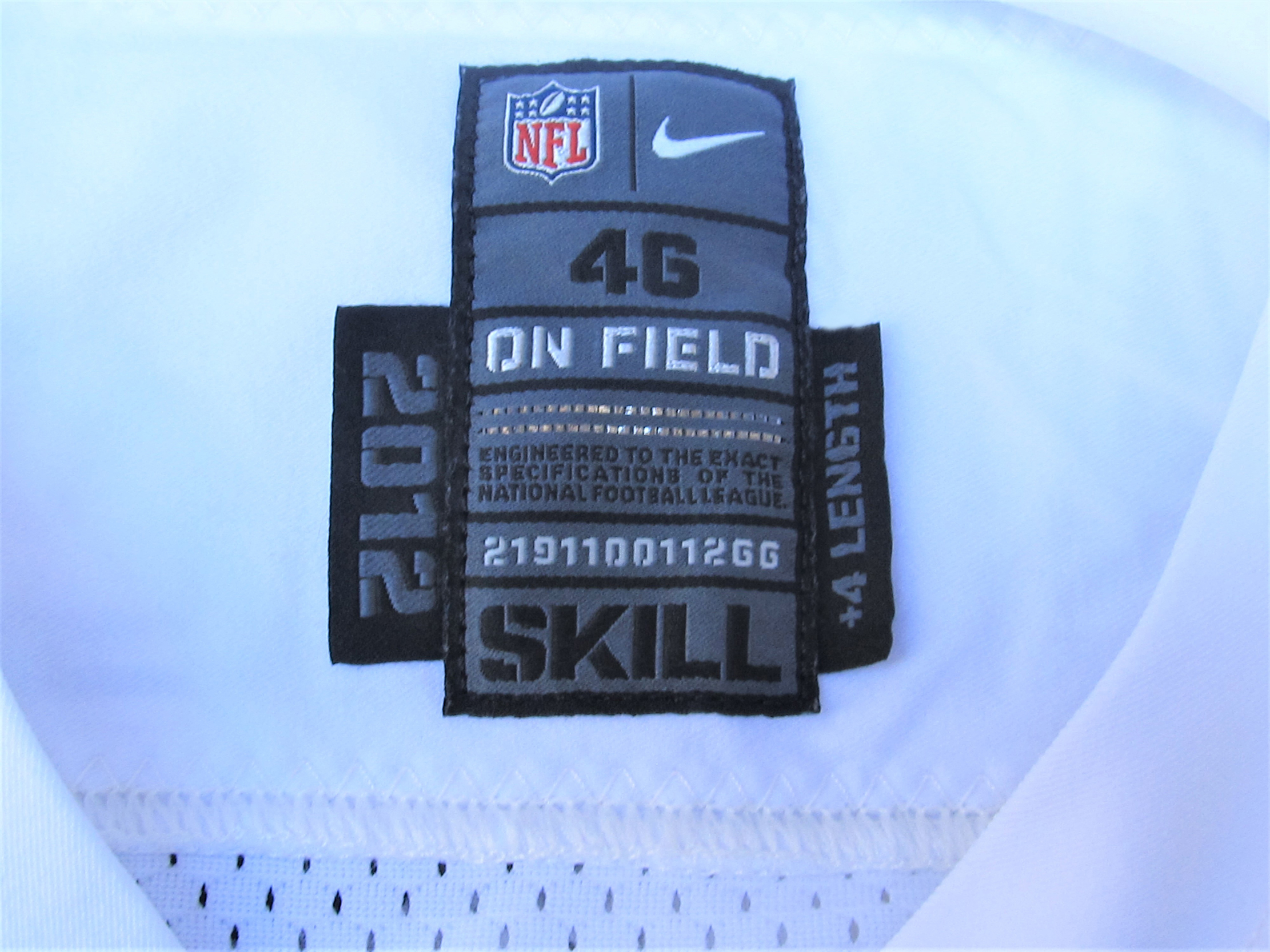 Lot Detail 2012 CARSON PALMER OAKLAND RAIDERS GAME USED JERSEY