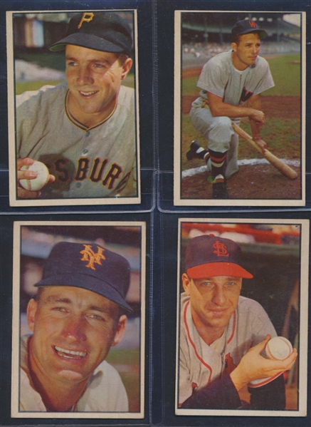 1953 BOWMAN PARTIAL SET 131/160 WITH 3 PSA GRADED