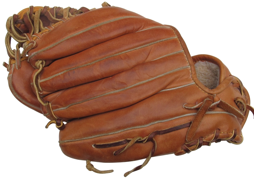 CIRCA 1990 OZZIE SMITH ST LOUIS CARDINALS GAME USED GLOVE