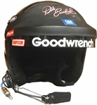 2000 DALE EARNHARDT AUTOGRAPHED RACE WORN HELMET WITH MICROPHONE