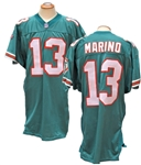 1995 DAN MARINO MIAMI DOLPHINS GAME USED JERSEY