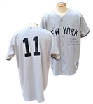2004 GARY SHEFFIELD SIGNED, FIRST SEASON AS A YANKEE GAME USED JERSEY
