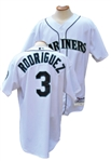 2000 ALEX RODRIGUEZ SEATTLE MARINERS GAME USED JERSEY