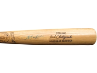 1973-1975 CARL YASTRZEMSKI SIGNED BOSTON RED SOX GAME USED BAT