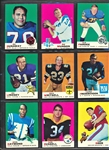 1969 TOPPS FOOTBALL COMPLETE SUPER HIGH GRADED SET (263)