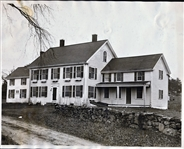 PHOTO OF BABE RUTHS MASSACHUSETTS COUNTRY HOME
