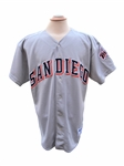 CIRCA 2005 BRIAN GILES SAN DIEGO PADRES GAME USED JERSEY