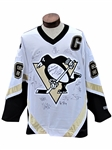 PITTSBURG PENQUINS SIGNED JERSEY INCLUDING MARIO LEMIEUX