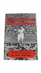 JACK DEMPSEY SIGNED BOOK ROUND BY ROUND AND SIGNED POSTCARD