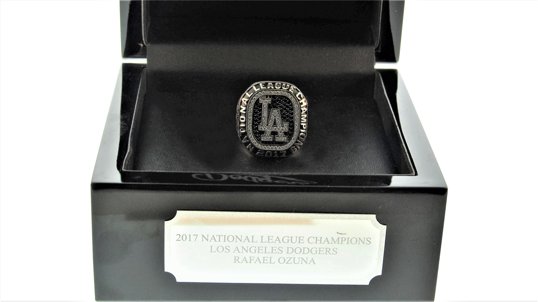 2018 LOS ANGELES DODGERS NATIONAL LEAGUE CHAMPIONS RING