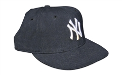 CIRCA 1998 DEREK JETER GAME USED NEW YORK YANKEES GAME USED HAT