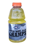 NEVER SEEN BEFORE 2008 NEW ENGLAND PATRIOTS SUPER BOWL XLII CHAMPS GATORADE UNDEFEATED SEASON BOTTLE
