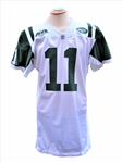 2008 KELLEN CLEMENS NEW YORK JETS GAME USED JERSEY