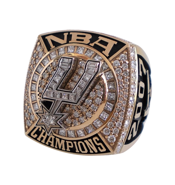 2007 ROBERT HORRY SAN ANTONIO SPURS NBA CHAMPIONSHIP RING